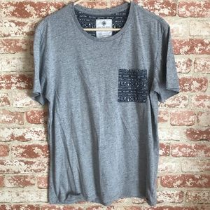 On The Byas Tribal Grey Gray Tee